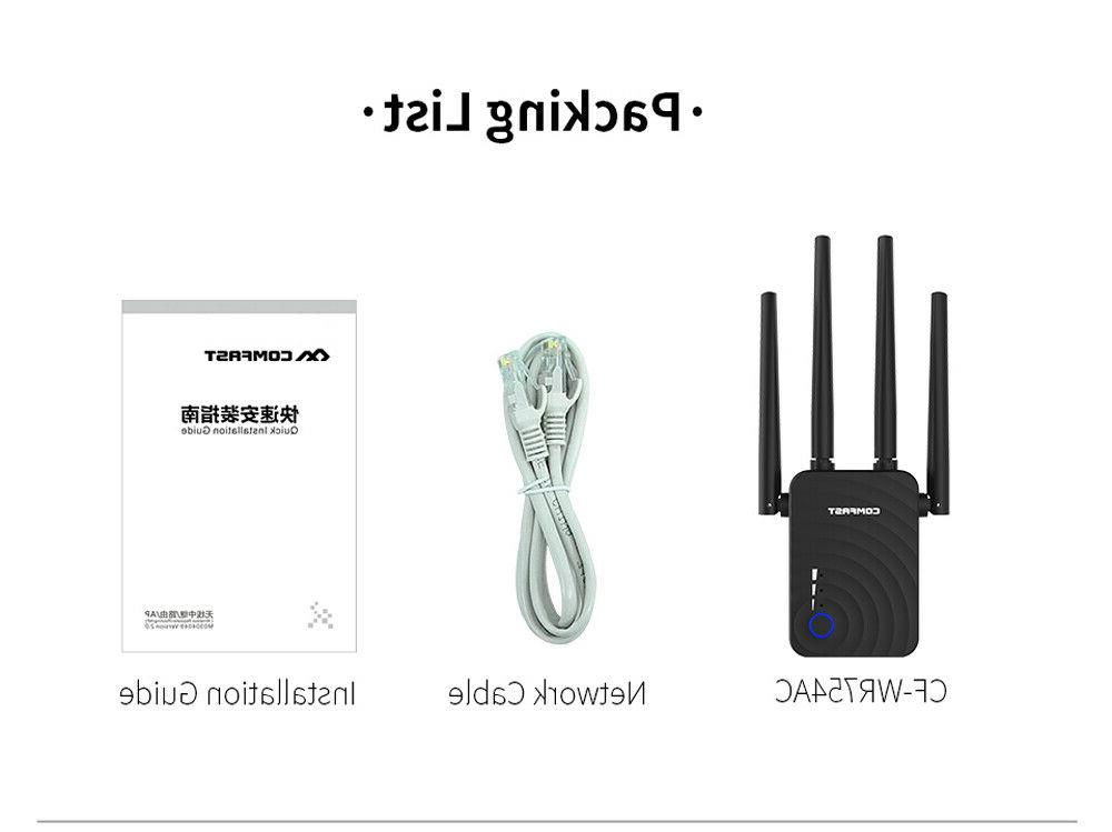 COMFAST WiFi 1200Mbps Mini 2.4GHz/5.8GHz Band