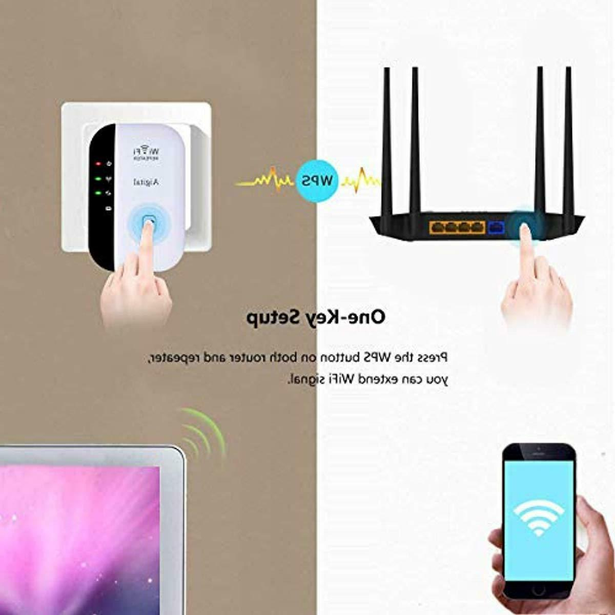 WiFi Range Wireless Repeater Signal Booster