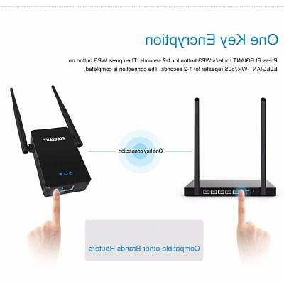 WiFi 750Mbps Wireless Repeater Signal Amplifier
