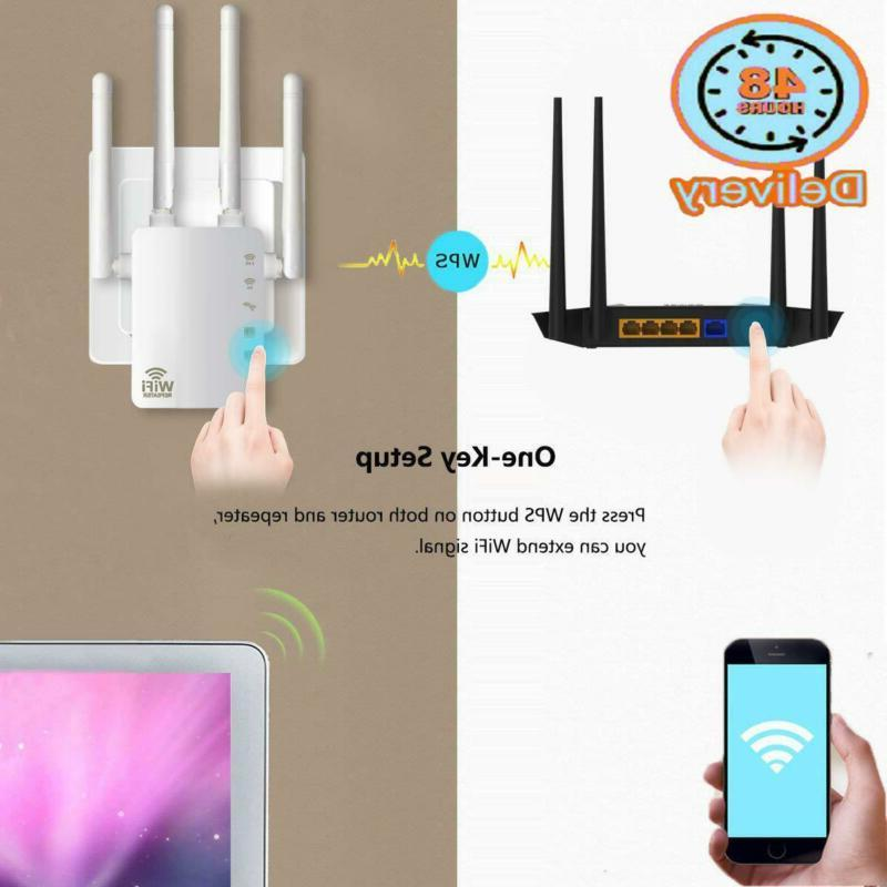 Wifi Extender, Ac1200 Band Internet Booster