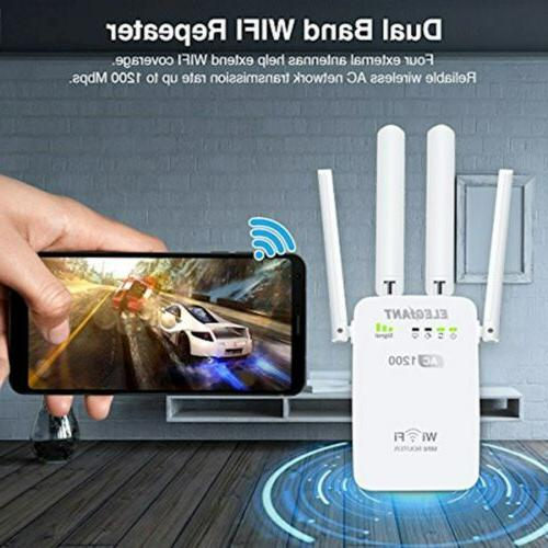 WiFi Extender, AC1200Mbps