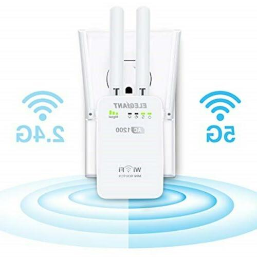 wifi range extender ac1200mbps wireless wifi furmores4645