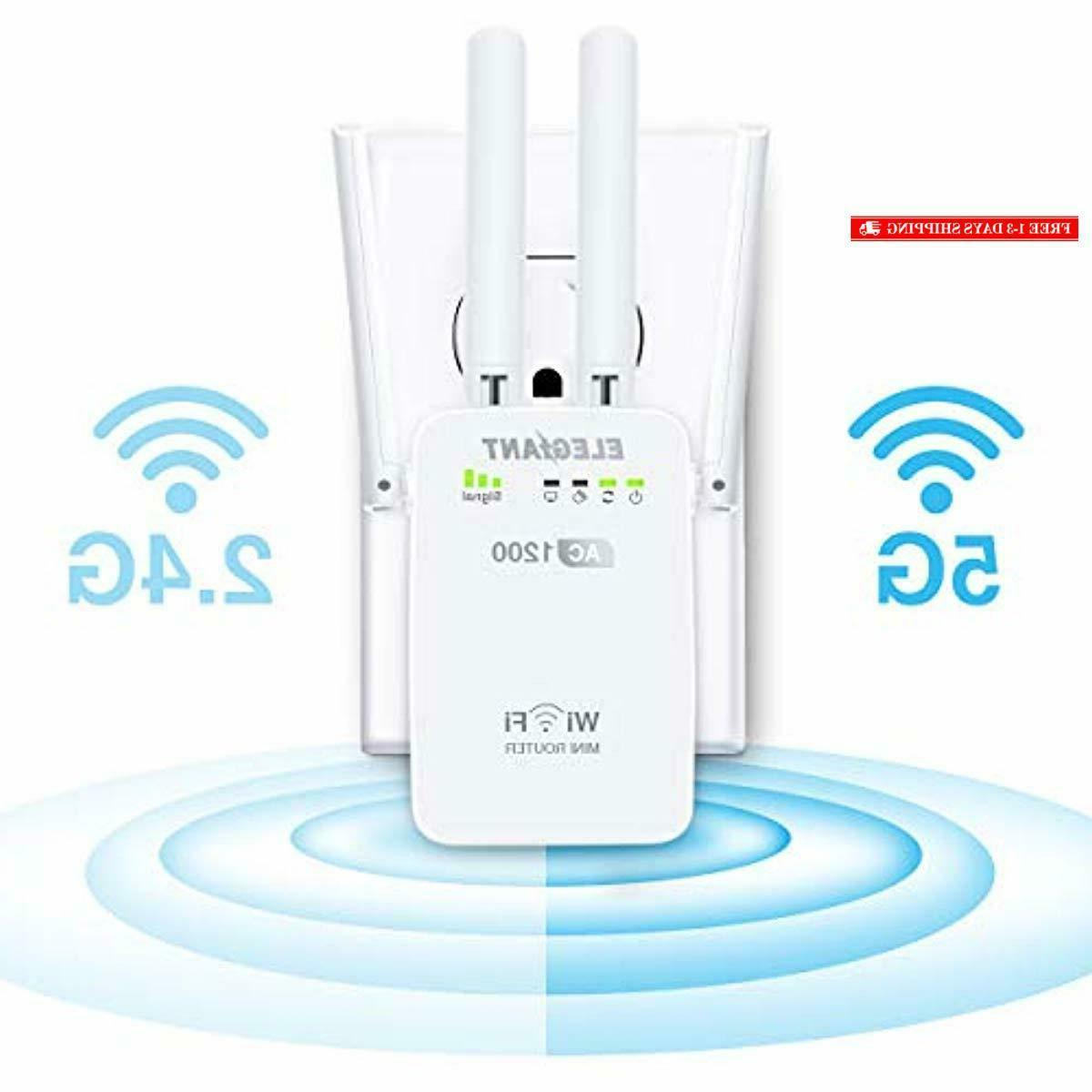 wifi range extender ac1200mbps wireless wifi repeater