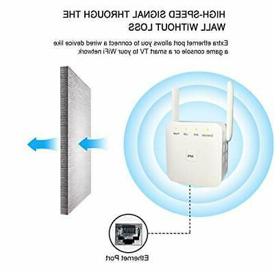 WiFi Extender WiFi Repeater 2.4G with Antennas LAN Port