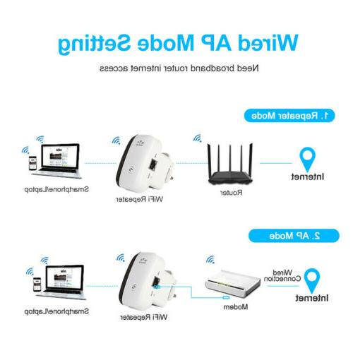 Wifi Extender 300Mbps Router Signal Repeater