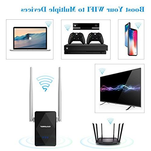Galaway WiFi Booster Wireless 2.4G Mbps with and 2 Ethernet for High Wi-Fi