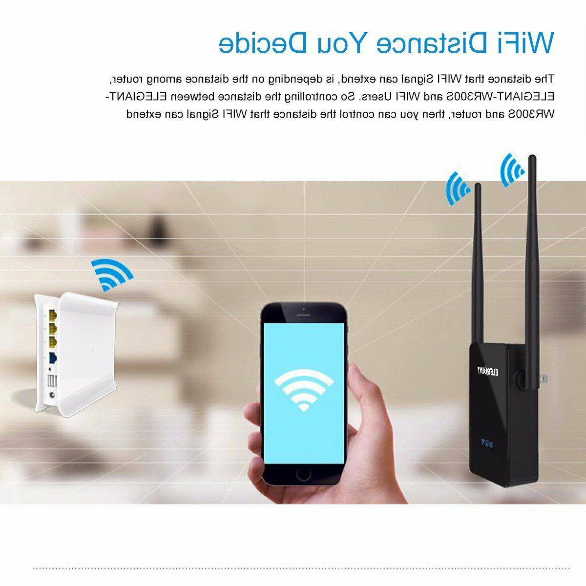 WiFi Range Booster Network Router Wireless Signal Repeater