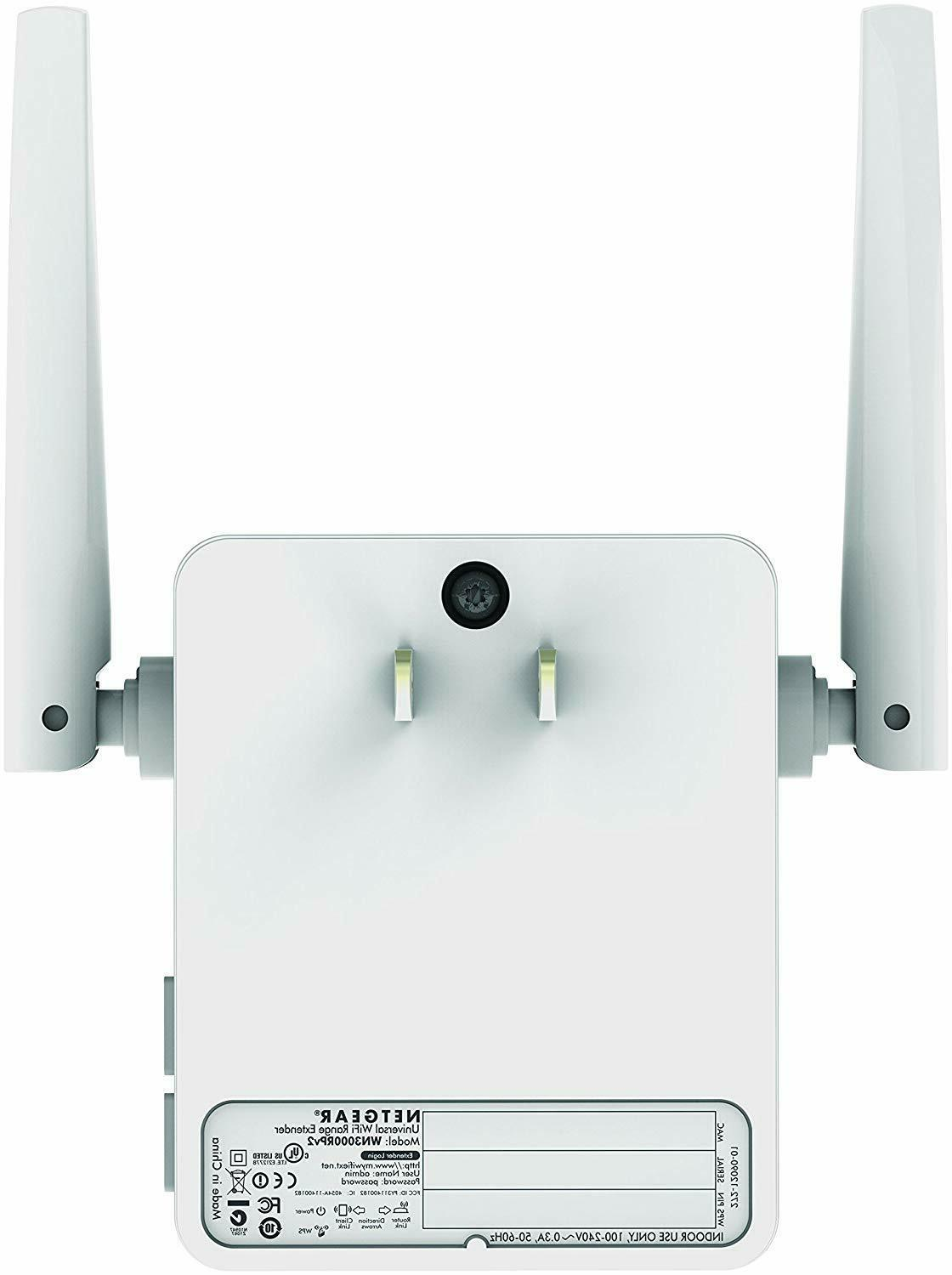 NEW!!! NETGEAR WiFi Extender coverage up Mbps