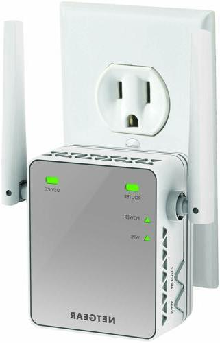 NETGEAR WiFi Range Extender N300 | WiFi coverage up to 300 M