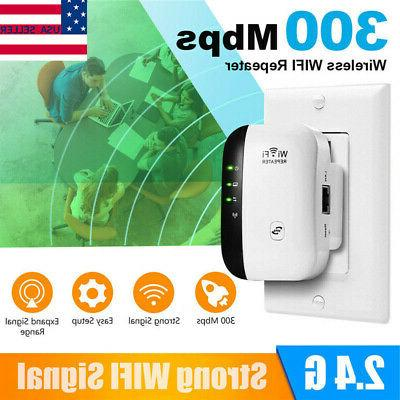 wireless wifi repeater range extender amplifier 300mbps