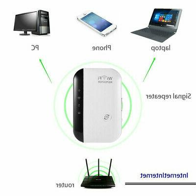 300Mbps Wireless WiFi Amplifier Blast Repeater Extender HOT
