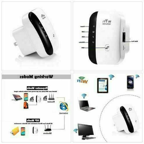 WiFi Booster 300Mbps Superboost Speed Wireless
