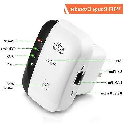 Aigital WiFi Extender Mbps Signal Range Booste...