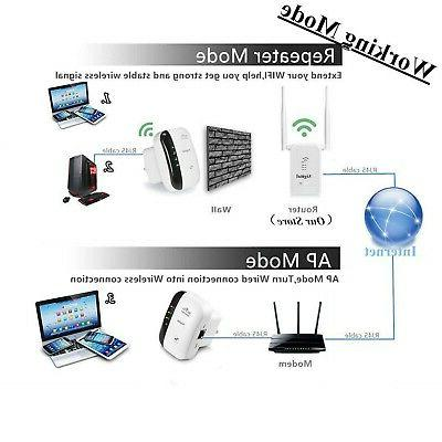 Mbps Wireless Repeater Internet Signal Range