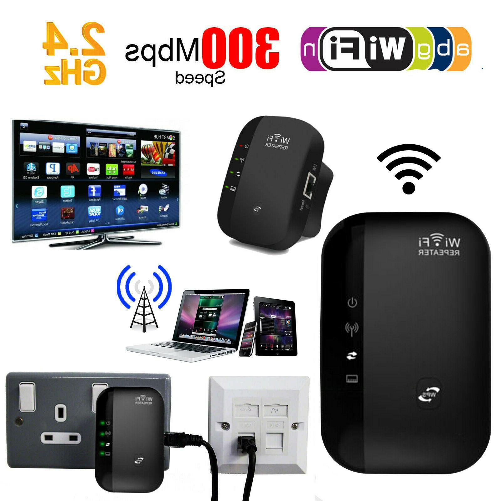Wifi Repeater 300Mbps Wireless-N 802.11 AP Router Signal
