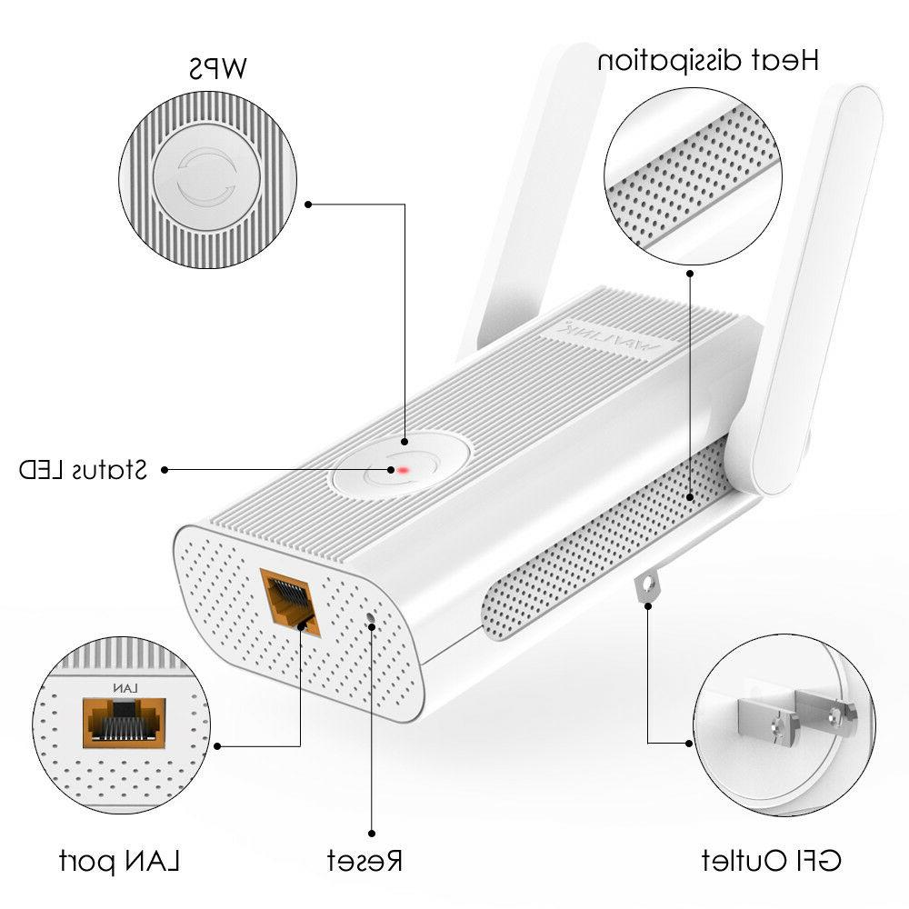 Wavlink WIFI Repeater&Dual Band 2.4G& 5G Wireless Range Extender &AP