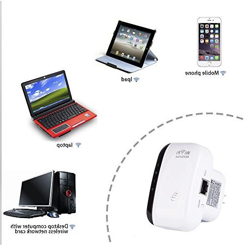 WiFi - WiFi Extender to Smart in Every - with any 2.4Ghz Portable Wifi Range with for Router