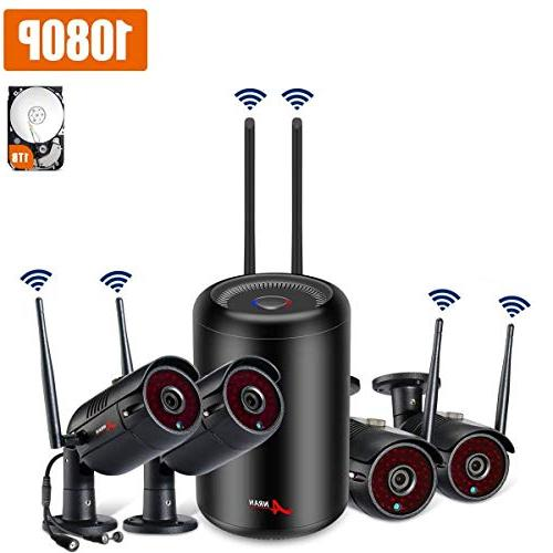 wireless security system anran