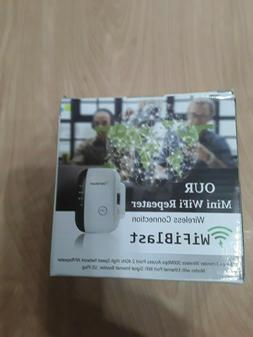 Mini WiFi Repeater Wireless Connection Range Extender 300Mbp