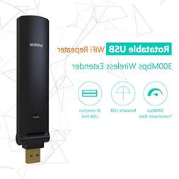 MSRM US310 WiFi Range Repeater, 300Mbps Mini Size USB WiFi S