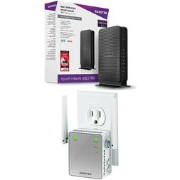 NETGEAR N600 Wi-Fi DOCSIS 3.0 Cable Modem Router  Bundle wit