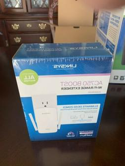 NEW!! Linksys AC750 BOOST Wi-Fi RANGE EXTENDER Dual-Band Gig