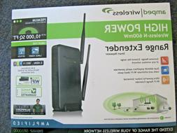 New Amped Wireless High Power Wi-Fi Smart Repeater & Range E