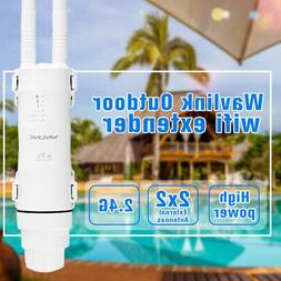 Wavlink Outdoor 2.4GHz Wireless Repeater&High Power,300Mbps