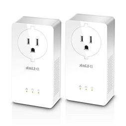 D-Link Powerline AV2 2000 Gigabit Passthrough Starter Kit -