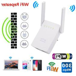Range Extender Dual Antenna WiFi Repeater Network Router For