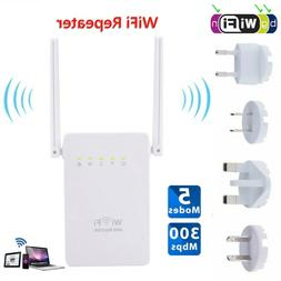 Range Extender Network Router Dual Antenna WiFi Repeater For