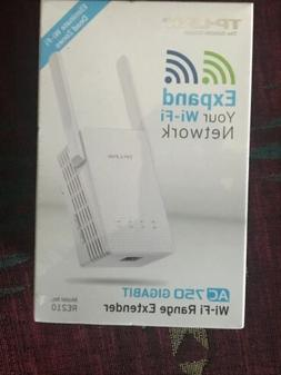 TP-Link AC750 RE210 Dual Band Wi-Fi Range Extender with Giga