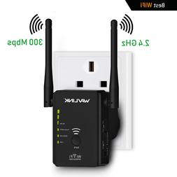 USA Norm Wavlink WiFi Extender Signal Booster 300Mbps Wirele