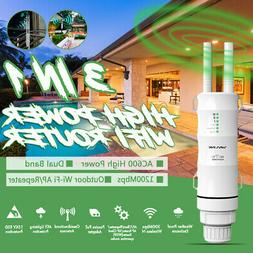 Wavlink AC600 Wireless Outdoor Repeater/AP&Wifi Signal Boost