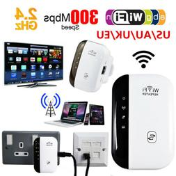 Wifi 300Mbps Signal Extender Booster Wireless-N AP Range 802