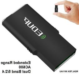 WiFi Adapter AC 600Mbps USB Wireless Network Extended Range