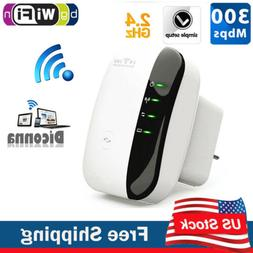 WiFi Blast Repeater Wireless Wi-Fi Range Extender 300Mbps Wi