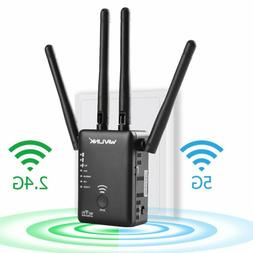 WiFi Extender,WAVLINK 1200M High Power WiFi Range Extender w
