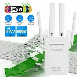 WiFi Extender Signal Range Booster Wireless 1200Mps Dual Ban