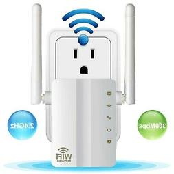 Aigital WiFi Range Extender 300 Mbps Mini Wireless WiFi Repe