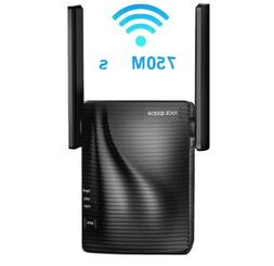 WiFi Range Extender - 750Mbps WiFi Repeater Wireless Signal