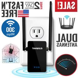 WiFi Range Extender Internet Booster Network Router Wireless