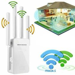 AC1200 WiFi Range Extender Repeater Wireless Booster Router