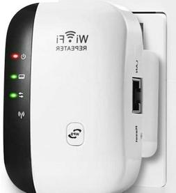 WiFi Range Extender, Up to 300Mbps Super Boost WiFi Repeater