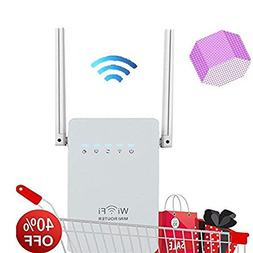 300Mbps WiFi Router Long Range Extender 2.4GHz WiFi Repeater