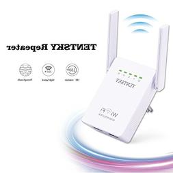 TENTSKY 300Mbps WiFi Router Long Range Extender 2.4GHz WiFi
