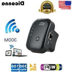 WiFi Signal Range Booster Wireless Network Extender Amplifie