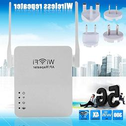Wireless WiFi Signal Amplifier Dual Antenna Portable Router